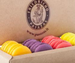 Migdoliniai sausainiai - macarons