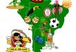 Friedricho pasaže Lotynų Amerikos spalvos